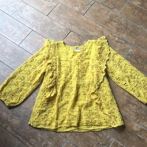 Anthro top. NWT.